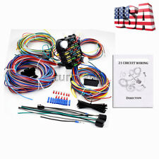 21 Circuit Wiring Harness For Chevy Mopar Ford hotrods Universal X-long wires