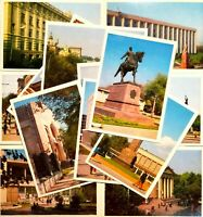 Photo postcards Set 14 pcs City Kishinev Soviet Moldavia Vintage Postcard 1974