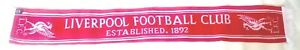 Liverpool Scarves Team Scarf EST 1892 Football Official Club Gifts