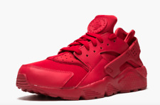 (SALE) Nike Air Huarache Triple Red 318429-660 Running Shoes COMFORT Men's NEW