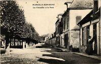 CPA Marcilly sur Seine - Les Charmilles et la Poste (364489)