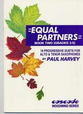 Equal Partners Book 2 Paul Harvey Alto & Tenorsaxophone MUSIC BOOK Only