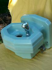 Halsey Taylor Jadeite Mid Century Porcelain Drinking Water Fountain Vintage