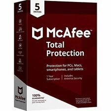 Mcafee MTP00ENR5RAA Total Protection 5device 2018 Lics