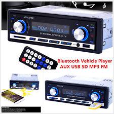 New listing Car Stereo Audio In-dash Bluetooth Fm Receiver Aux Usb Mp3 Mmc Wma Radio +Remote