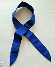 """Navy Blue"" Neck Cooler Scarf Ice Cold Bandana SIZE: ""4.5cm x 100cm CYCLING"