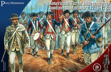 American War of Independence Continental Infantry (28mm) Perry AW250 free post