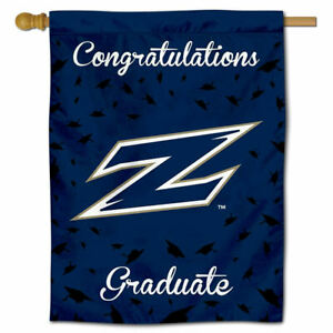University of Akron College Graduation Gift Decorative Flag