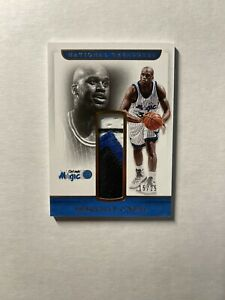 Shaquille O'neal 2016-17 Panini National Treasures Retro Materials Patch /25