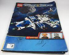 LEGO® Bauanleitung Instruction Nr. 5974 Space Police Raumschiff Polizei Heft 2