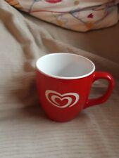 Tasse Von Langnese Weiß Rot Neu