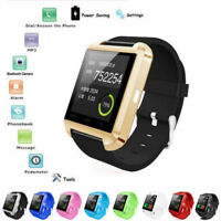 Bluetooth V4.0 Smart Wrist Watch Phone Mate For IOS Android iPhone Samsung HTC