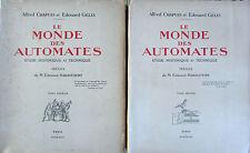 Le Monde des Automates 2 Volumes Alfred Chapuis et Edouard Gélis 1928 Numéro 624
