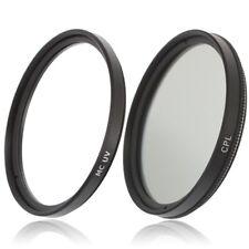 49mm MC UV Filter & CPL Polfilter für Kameras mit 49 mm Einschraubanschluss