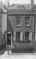 POSTCARD   HAMPSHIRE  PORTSMOUTH  CHARLES DICKENS' BIRTHPLACE    LL  12