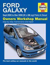 5556 Haynes Ford Galaxy (Sept 2000 - Mar 2006) X to 06 Workshop Manual