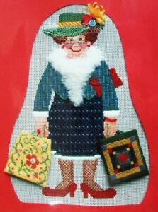 Needlepoint Pattern LIBBY STURDY Downtown Stitcher/Canvas/Netting-IW64