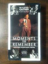 Bill and Gloria Gaither - Moments to Remember - 1996 - VHS Tape
