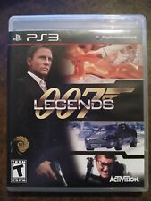 007 Legends (Sony PS3) (Black Label) (Activision, USA, 2012)