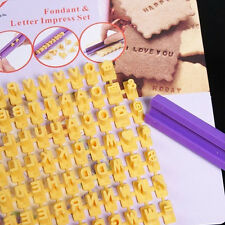 English Letters Biscuit Chocolate Making Tools Silicone Cake Baking Mold Design