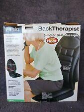 Homedics 5-motor Back Therapist Seat Massager