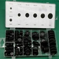 170x Gummitülle Sortiment Membrantüllen Durchgangstülle Verschlussstopfen 7-25mm