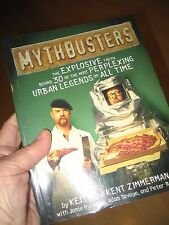 MYTHBUSTERS Book by Keith Kent Zimmerman EXPLOSIVE TRUTH URBAN LEGENDS DISCOVERY