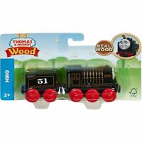 Fisher-Price Thomas & Friends Wood Hiro Engine Train Set GGG67 NEW