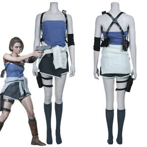Resident Evil 3: Remake Jill Valentine Costume Cosplay Outfit Uniform Full Set