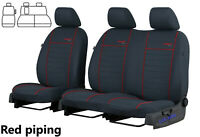FORD TRANSIT CUSTOM 2013 2014 2015 2016 2017 2018 FABRIC TAILORED SEAT COVERS