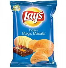 Lays Lay's India's Magic Masala 52 grams Potato Chips Wafers - 1.83 oz Snacks