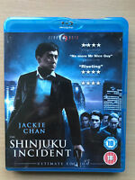 Jackie Chan Shinjuku Incident 2009 Hong Kong Crime Thriller CineAsia UK Blu-ray