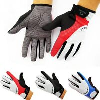New 3 Colors Cycling Bike Bicycle Motorcycle Riding Full Finger Gloves Size M-XL