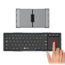 NEW iClever IC-BK08 Tri-folding Wireless Keyboard with Touchpad from JAPAN