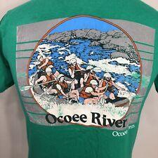 VTG Ocoee River T Shirt Tennessee Canoe Kayak Hiking Camping 80s 90s USA Medium
