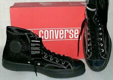 Converse 163788C Chuck 70 HI Suede & Lack Leder Schuhe Sneaker Boots 46 Black