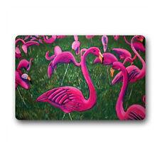 Custom Door Mats 30x18 Inch Machine-washable Flamingo For Flannel
