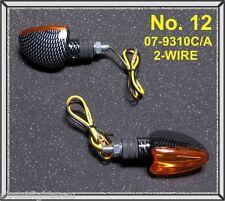 TARGA - Amber Turn Signal Indicators (Universal ) Arrow Shape - PART: 07-9310C/A