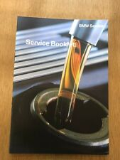 GENUINE BMW SERVICE BOOK FOR ALL MODELS 2 3 4 5 6 7 X3 X5 X6 M SPORT GENUINE+