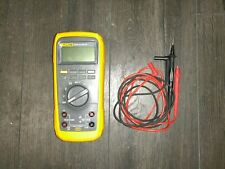 Fluke 27 II Rugged IP 67 Industrial Digital Multimeter Tested Authentic Leads