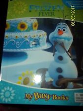 Disney Frozen Fever My Busy Book by Phidal Publishing - Equipped W/ 12 Figurine