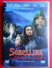 dvd,sorellina e il principe del sogno,alisea and the dream prince,amedeo minghi