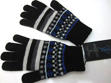 """Paul Smith Wool Gloves """"FAIR ISLE"""" GLOVES One Size Made in Scotland"""