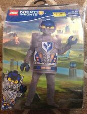Boys Lego Nexo Knights Clay Medium 7/8 Halloween Costume Dress Up