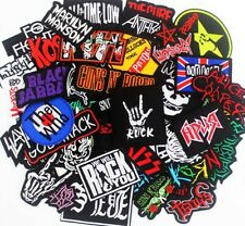 More details for music band embroidered iron on or sew on patch (pk23) rock punk pop heavy metal