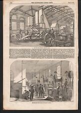 1854 THE BANK NOTE PAPER MILL LAVANT HANTS PRINTING ROOM BANK OF ENGLAND
