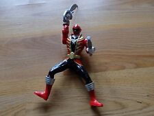 Disney Power Rangers Megaforce Red Ranger Samurai Action Figure Power Sword Gun