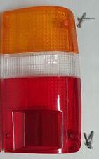 89-94 TOYOTA HILUX MK3 LN RN PICKUP TAIL REAR RIGHT SIDE LIGHT LAMP LENS 4 SCREW