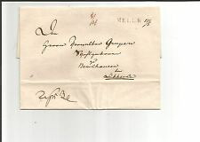 Hannover/Melle l1 (24 mm) + HS. DAT. 17/3 circa 1835 A. kab. - tax. - LETTERA