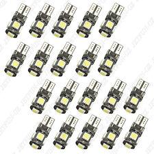 20 X Canbus Error Free White T10 5-SMD 5050 Interior LED Light bulbs W5W 194 168
